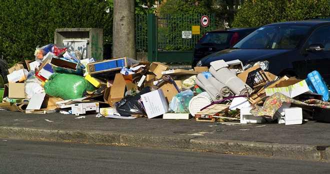 штраф за мусор в неположенном месте статья коап