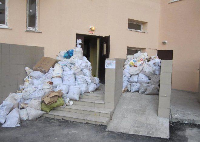 вывоз мусора из квартиры штраф за мусор в неположенном месте