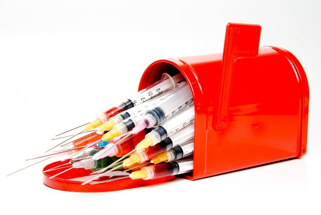 утилизация инструментов шприцов