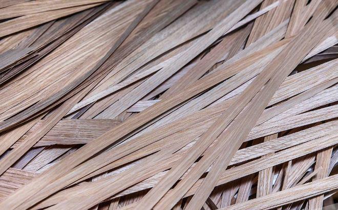древесный отход шпон