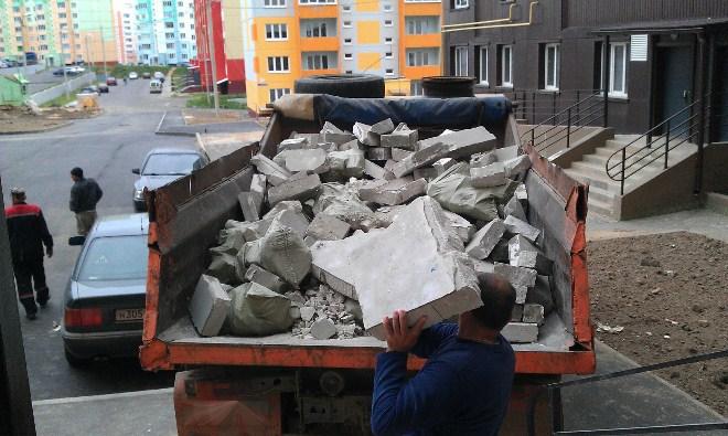 вывоз мусора из квартиры компания по утилизации