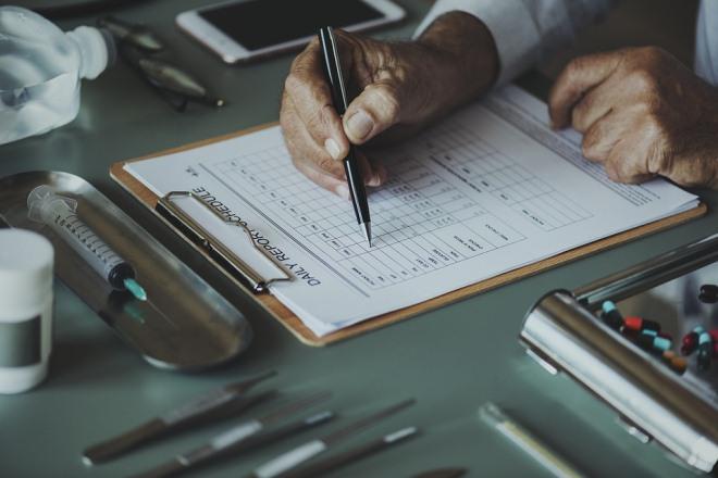 схема обращения с медицинскими отходами для персонала