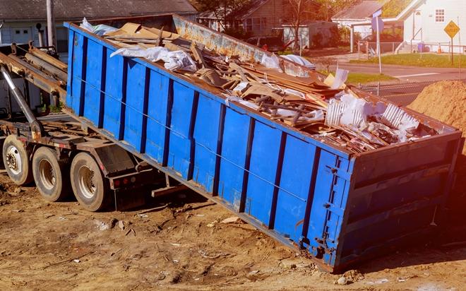 вывоз мусора бункером Контейнер 15 м³