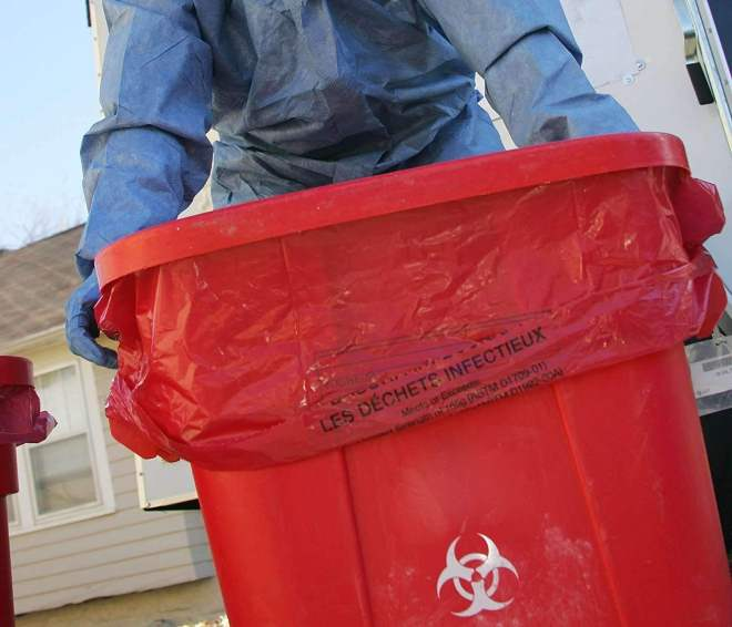 мешки для медицинских отходов, правила обращения