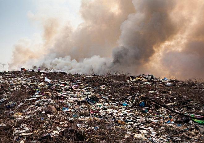 проблема отходов, завод по переработке отходов