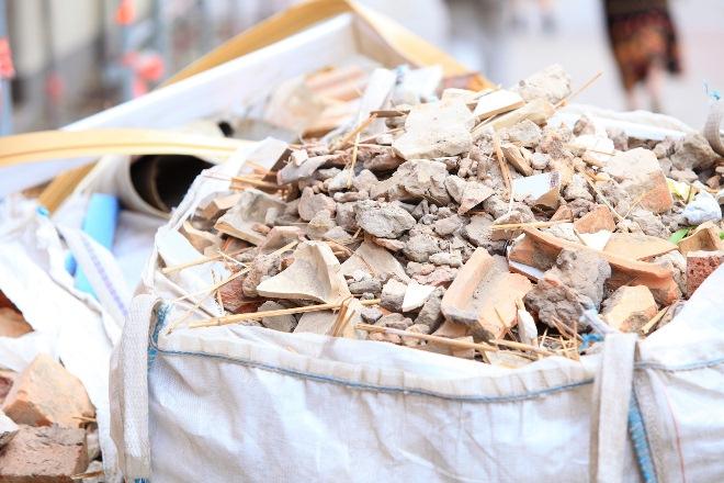 контейнер для вывоза строительного мусора, строительный мусор
