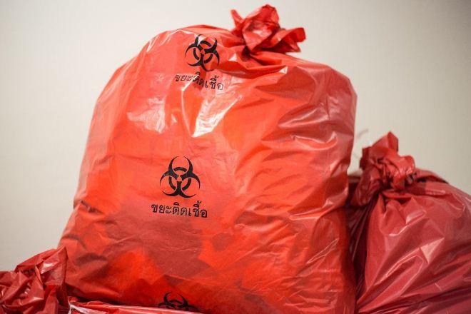мешки для медицинских отходов, класс в