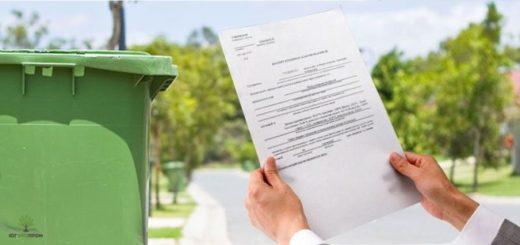 договор на утилизацию,паспорт бытовых отходов